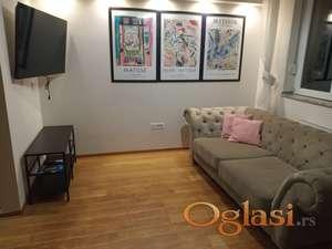 Lux dvoiposoban stan u centru grada (mogucnost najma i garaze uz stan)