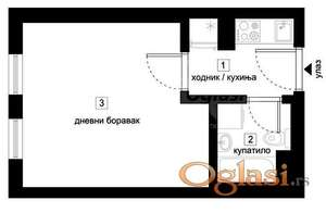 DETELINARA, 23 m2, 39150 EUR