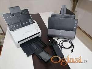 Dva skenera sa kablovima