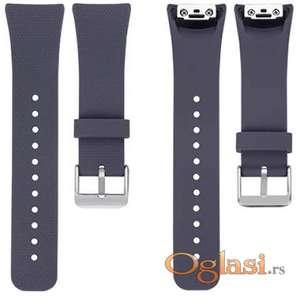 Siva silikonska narukvica za Samsung Gear Fit 2