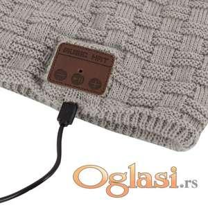 Muzička kapa sa bluetooth slušalicama