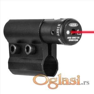 Crveni mini laser za montažu na cev