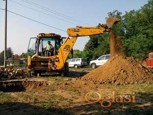 Iskop i izgradnja septičkih jama i bazena