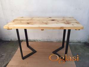 Trapezarski sto u LOFT stilu