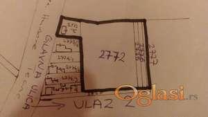 Žabalj, građevinsko zemljište ( nikole tesle)