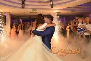 vatrometi baloncici suvi led dim podni  za svadbe vencanja