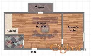 Balzakova, kompletno renoviran.
