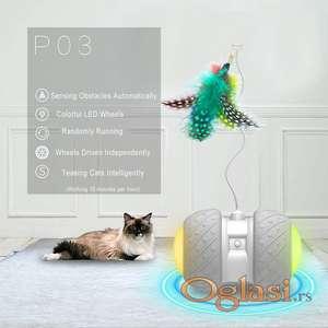 Inteligentna igračka razonoda za mačke mace SMART