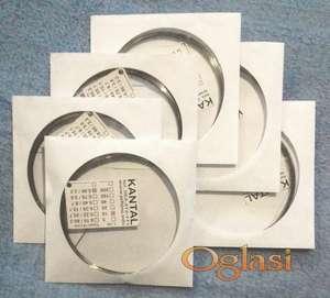 Otporna žica KANTAL (kao cekas) fi 0.15, 0.22, 0.35, 0.45, 0.70, 0.90 mm.