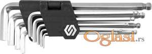 Set imbus ključevi 2.5-10 mm 9 kom