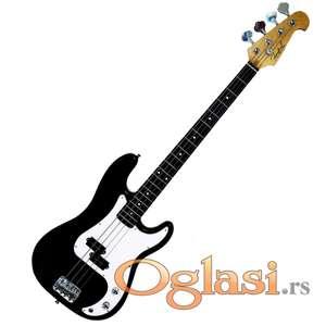 Firefeel S086 BK Electricna Bass gitara