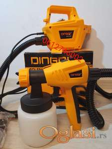 Pistolj za farbanje sa kompresorom 800w DINGQI