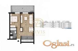 Prodajemo stan u novogradnji na Novom Beogradu, 61m2
