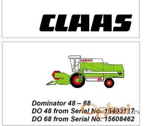 Claas Dominator 48 - 68 Radionički priručnik za elektriku