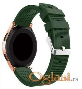 Maslinasto zelena narukvica Samsung galaxy watch 42mm