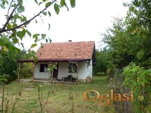 Mala kuća na većem placu na 7 km. od N.Sada 57/1768 m2. Alibegovac