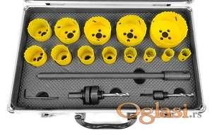 Set kruna za bušenje Bimetal 19-76 mm