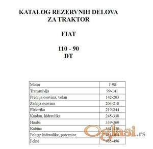 Fiat 110 - 90 DT Katalog delova