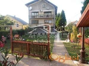 Resnik, kuća, 388m2 + 75m2, 4 nivoa, sredjena ID#1012