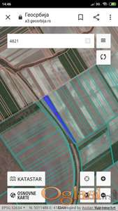 Poljoprivredno zemljište u K.O.Kovilj