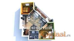 Dvoiposoban stan u izgradnji  Subotica ID#1113