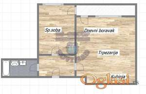 Dvosoban stan u izgradnji, Cara Dusana