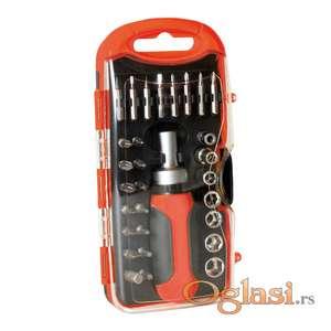 Set alata sa račnom 30 komada DE101483