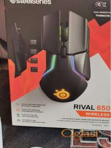 SteelSeries Rival 650 Wireless RGB