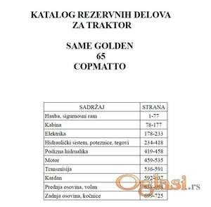 Same Golden 65  Compatto - Katalog delova