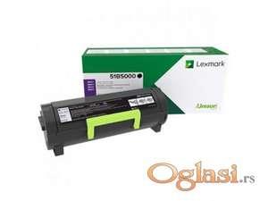 Original LEXMARK Toneri 51B5000