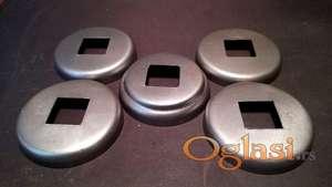 Rozetne za kutiju 20 x 20 mm metalne i aluminijumske