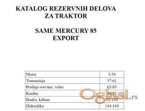 Same Mercury 85 Export - Katalog delova