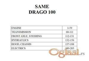 Same Drago 100 - Katalog delova