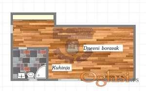 Odlicna garsonjera u izgradnji na Sajlovu!!!021/662-0001