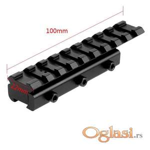 Adapter 11/20 bez tunela sa tri bočna šrafa + uporni