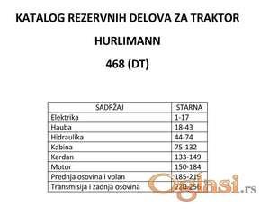 Hurlimann 468 - katalog delova