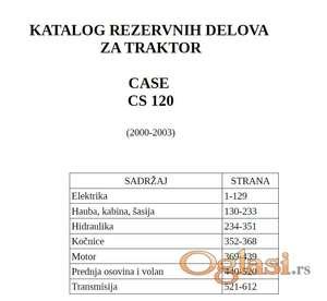 Case CS 120 - Katalog delova