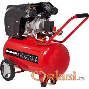 Kompresor 50L Dvoklipni Einhell TE-AC 400/50/10,