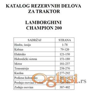 Lamborghini Champion 200 - Katalog delova