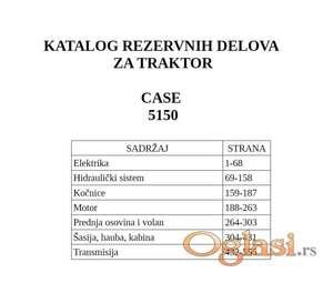 Case 5150 -Katalog delova