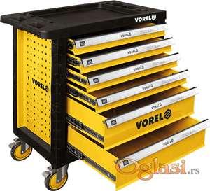Kolica za alat sa 6 fioka profesionalna Vorel YT-58539