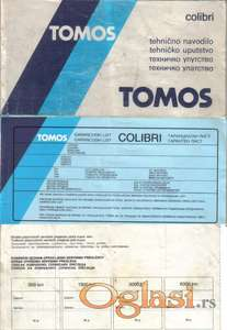 TOMOS COLIBRI - Uputstvo