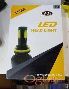 Najjače i najnovije LED sijalice za farove H4