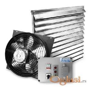 Samopodizne zaluzine i ventilatori