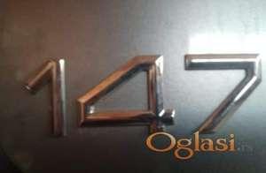 Znak na gepeku za Alfu 147-1.6TS