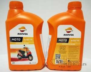 Motorno ulje Repsol SCOOTER 2T 1L