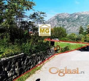 Prodaje se ravan plac u Kotoru(PRCANJ) pov 2.107m2-150m od mora