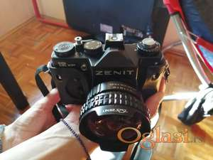 Prodajem foto aparat i objektive