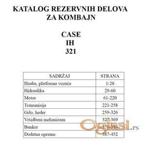 Case 321 - Katalog delova