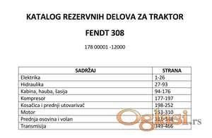 Fendt 308 LSA - Katalog rezervnih delova
